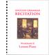 English Grammar Recitation II Lesson Plans