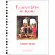 Famous Men of Rome Lesson Plans