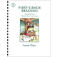 First Grade Reading Lesson Plans
