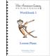 New American Cursive Penmanship Program 1 Lesson Plans