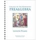 Pre-Algebra Lesson Plans