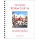 Second Form Latin Lesson Plans