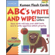 ABC�s Uppercase Write and Wipe Flash Cards