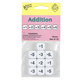 Math Numbers Addition - Round Cornered Dice (10 per bag - 16mm)