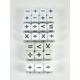 Math Operators - Round Cornered Dice (25 per bag - 16mm)