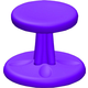Kore Toddlers Wobble Chair - Purple (Height 10