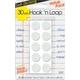 Hook 'n Loop Dots Magic Mount - White (5/8