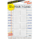Hook 'n Loop Squares Magic Mount - White (7/8