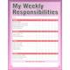 My Weekly Responsibilities