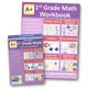 A+ Interactive Math 1st Grade Standard Edition CD Software & Workbook Bundle
