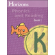Horizons K Phonics and Reading Book 1