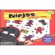Ninjas Reusable Sticker Tote