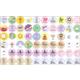 Bare Calendar Stickers (120 Stickers)