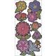 Flowers Window Decals (1 sheet)