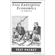 Free Enterprise Economics in America Test Packet