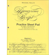 Spencerian Guidesheet Beginner Practice Tablet