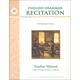 English Grammar Recitation Workbook III Teacher Guide