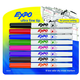 Expo Low Odor Ultra Fine Dry Erase Markers (8 assorted colors)