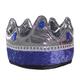 King Crown - Silver/Blue