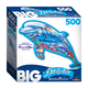 Big Shaped Dolphin Ocean Jigsaw Puzzle (500 piece)