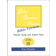 Daily Bible Grammar Practice: Bible III Teacher Guide