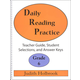 Daily Reading Practice Teacher Guide Grade 6