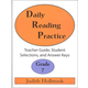 Daily Reading Practice Teacher Guide Grade 7