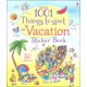1001 Things to Spot on Vacation Sticker Book