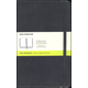 Classic Black Hardcover Large Notebook - Plain