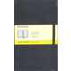 Classic Black Hardcover Large Notebook - Squared