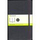 Classic Black Softcover Large Notebook - Plain