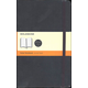 Classic Black Softcover Large Notebook - Ruled