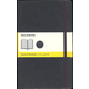 Classic Black Softcover Large Notebook - Squared