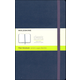Classic Sapphire Blue Hardcover Large Notebook - Plain