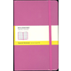 Classic Magenta Hardcover Large Notebook - Squared