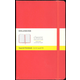 Classic Red Hardcover Large Notebook - Squared
