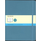 Classic Underwater Blue Softcover X-Large Notebook - Dotted