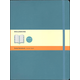 Classic Underwater Blue Softcover X-Large Notebook - Ruled