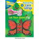 Butterfly Shoe Lace Wings