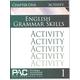 English Grammar Skills: Chapter 1 Activities