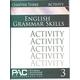 English Grammar Skills: Chapter 3 Activities
