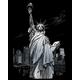 Engraving Art - Lady Liberty (Silver Foil)