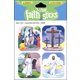 Jesus Died and Lives Stickers (Faith That Sticks)
