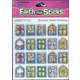 Stained Glass Crosses Stickers (Faith That Sticks)