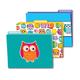 Colorful Owls File Folders (set of 6)
