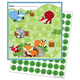 Mini Incentive Charts with Stickers - Playful Foxes