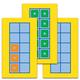 Unifix Cubes Ten-Frame Cards