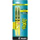 Frixion Light - Yellow Chisel Tip Erasable Highlighter (2 pack)