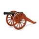 Cannon Premium Wood Model Kit