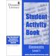 WordBuild Elements Level 1 Student Activity Book